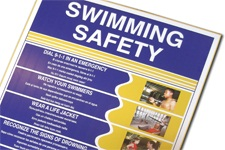 Multi Language Swimming Safety Posters