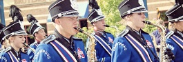 Plymouth on Parade - Armstrong Hgih School marching band