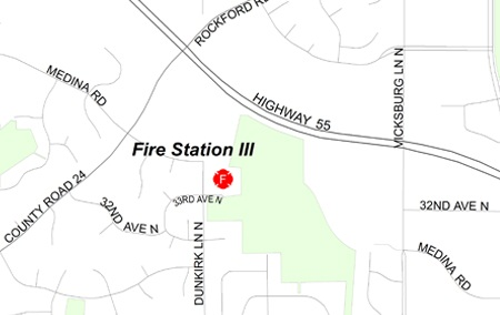 Plymouth Fire Station III map