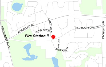 Plymouth Fire Station II map