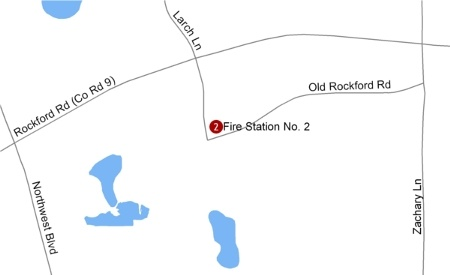 Fire Station 2 Facility Map