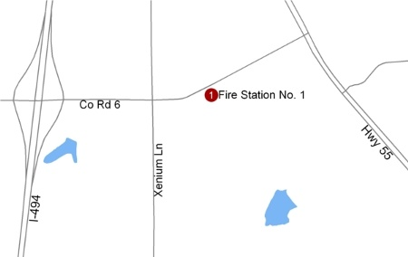 Fire Station 1 Facility Map