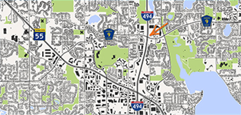 Map - Plymouth development in 2017