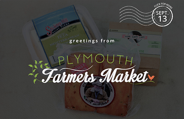 Download the Sept. 13, 2017 Plymouth Farmers Market Newsletter (PDF)