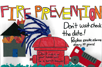 Plymouth fire prevention poster contest winner 2016