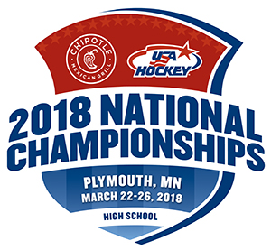 USA Hockey 2018 National High School Tournament in Plymouth, Minnesota
