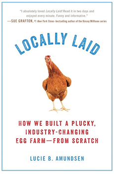 "Plymouth READS 2018 book ""Locally Laid"" by Lucie Amundsen"