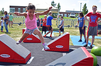Plymouth Parks and Recreation Ninja Warrior Camp