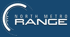 North Metro Range logo - a law enforcement training center in Maple Grove, MN