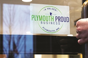 Plymouth Proud decal