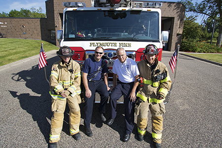 Plymouth Fire Department Duty Crew