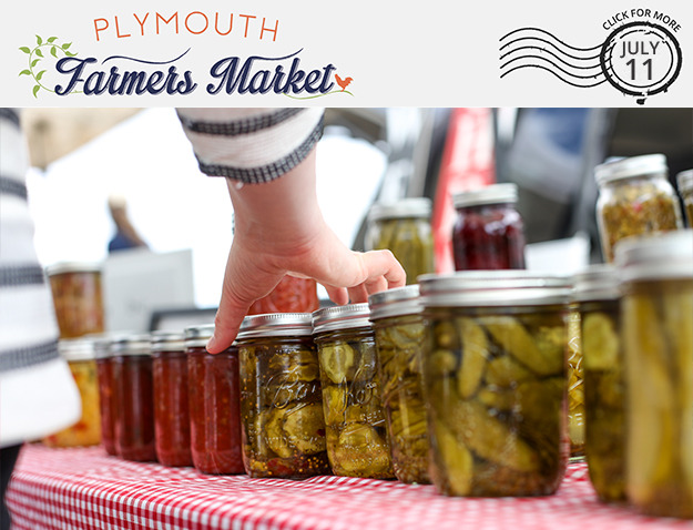 View the July 11, 2018 Plymouth Farmers Market Newsletter (PDF)