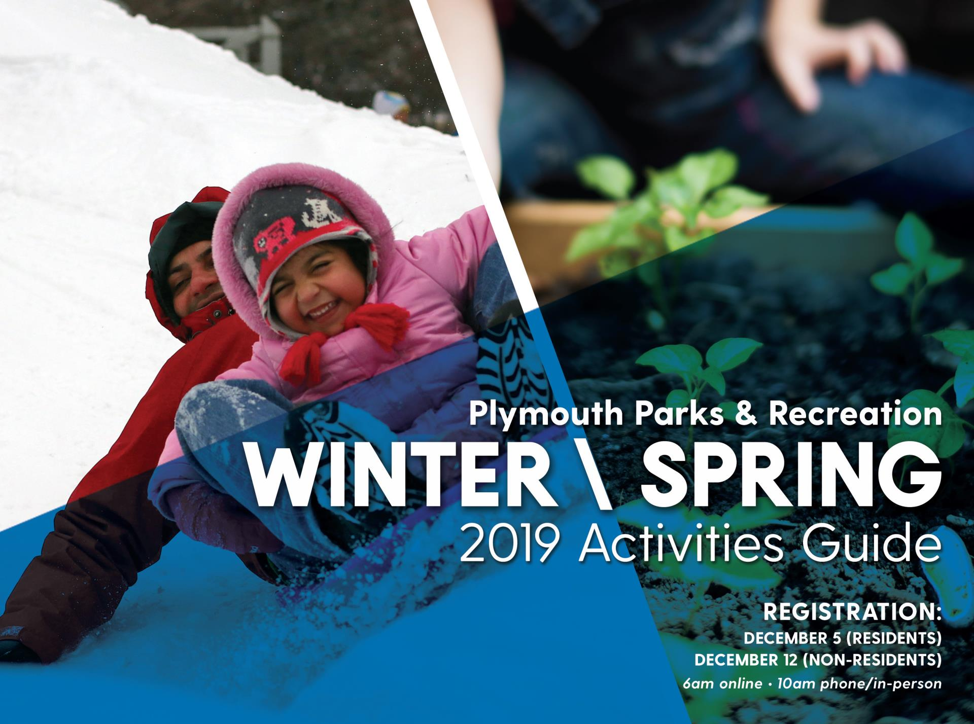 Winter/Spring 2019 Parks and Recreation Activities Guide cover