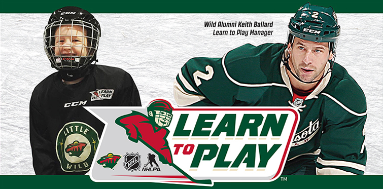 Little Wild Learn to Play Hockey Program at the Plymouth Ice Center
