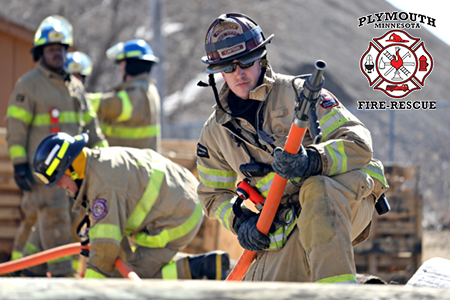 Plymouth Firefighters training