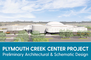 Plymouth Creek Center preliminary architectural and schematic design