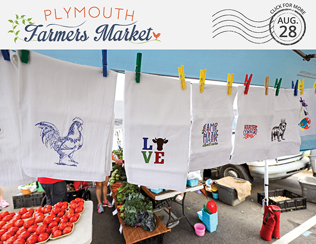 View the Aug. 28, 2019 Plymouth Farmers Market Newsletter (PDF)