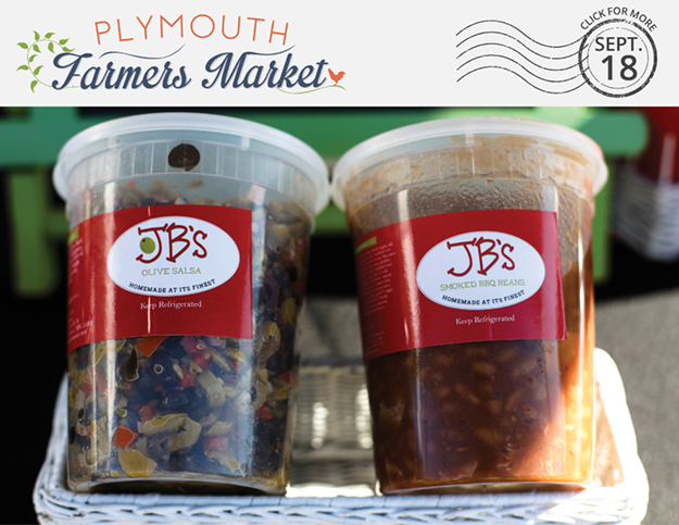 View the Sept. 18, 2019 Plymouth Farmers Market Newsletter (PDF)