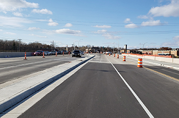 Rockford Road (County Road 9) bridge over I-494 fully open to traffic