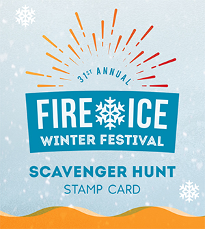 Fire & Ice Scavenger Hunt graphic