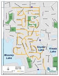 2017 Sanitary Sewer Lining Map Thumbnail