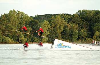 Water ski show in Plymouth, MN