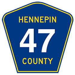 County Road 47 sign